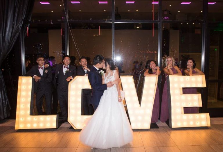 Love Custom Sign Lettering for Wedding